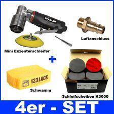 Set Mini Exzenterschleifer 75mm K3000 Mirka Abralon Scheiben Nasspapier Schwamm