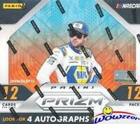 2019 Panini Prizm Nascar Racing Factory Sealed HOBBY Box-24 PRIZM+4 AUTOGRAPHS