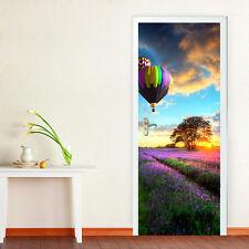 PROVENCE LAVENDER Autoadesivo adesivi Porta Murale 88cm x 200cm dimensione europea