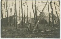 Soldier 52nd Div Farm 1916 South of Arras Feldpost German WW1 Photograph (1274)