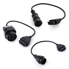OBD2 OBDII BMW 20pin + Mercedes 38pin&14pin auf 16pin Auto Adapter Stecker Kabel