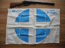 New listing Vintage Daisy Canvas Bb Gun Range Backstop Blue Excellent Condition