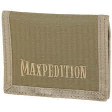 Maxpedition AGR Tactical Low Profile Wallet Slim Hex Ripstop Nylon Pocket Tan