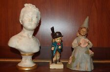 Figures Tom Clark 1987 Gnome DEE LOVELY & Hummel Boy Cello & Houdon Girl Bust