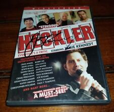 Jamie Kennedy HECKLER Signed Autographed DVD Cover
