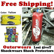 Shockwears Shock Covers by Outerwears for Losi 5ive-T (Yellow) 45-2755-04