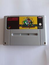 Super Mario World Return To Dinosaur Land SNES Super Nintendo Video Game PAL