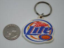 Rubber Miller Lite True Pilsner Beer Advertising Keychain