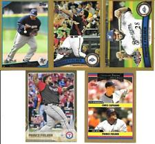 PRINCE FIELDER NICE (5) CARD TOPPS GOLD LOT SEE LIST & SCAN FREE COMBINED S/H