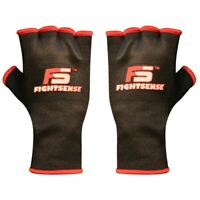 FS Boxing Fist Hand Inner Gloves Bandages MMA Muay Thai Protective Wraps Black
