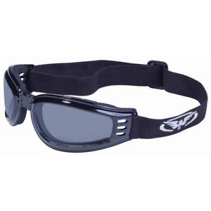 Global Vision Mach 3 Motorradbrille Bikerbrille Sonnenbrille klappbar