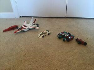 G1 Transformers Jetfire Autobot 1980s Bandai, BONUS Wheeljack And Perceptor
