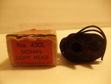 Lionel Trains Postwar #450L Separate Sale Signal Light Head C10 OB