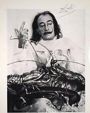 SALVADOR DALI HAND SIGNED *DALI AT THE SAINT REGIS HOTEL*  COLORPLATE W/ C.O.A.