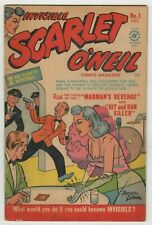 Invisible Scarlet O'Neil (1950) #1 Harvey Russell Stamm C/A Bob Powell Art VG/FN