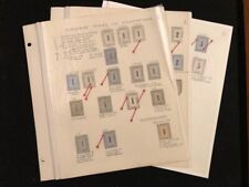 Hawaii Numeral Study Collection 32 Examples