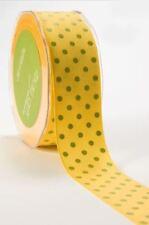 Tessuti e stoffe gialli Pois per hobby creativi