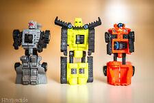 used Takara Transformers Micron Legend Minicon X-Dimension Adventure Team arms