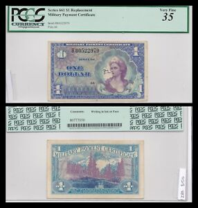 Series 661 $1 Replacement Note! PCGS Graded