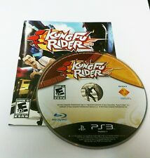 Kung Fu Rider Motion Control Game Playstation 3 PS3  Game and Instructions only