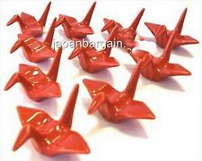 6x Porcelain Crane Chopsticks Rest Red A11885-Rd S-2159x6