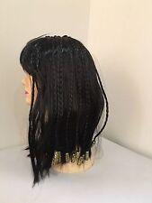 **NEW Lady black Dreadlocks Beaded Rasta wig/wigs - Halloween/Party/Costume