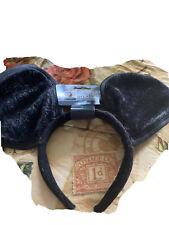black mouse ears plush headband by Costumes USA