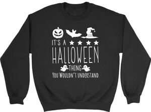 It a Halloween Thing You Wouldnt Understand Children Jumper Sweatshirt Boy Girl