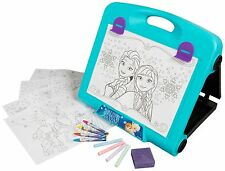 NEW DISNEY FROZEN TRAVEL ART SET EASEL - GIRLS COLOURING DRAWING GIFT PRESENT