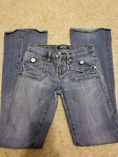 Rock & Republic Womens Jeans Scorpion Low Rise Boot Cut Flap Pocket size 25.A018