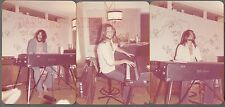 3 Vintage Photos Man Playing Rhodes Rock Music Electric Keyboard Organ 75481