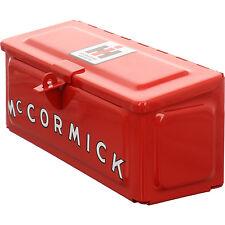 Werkzeugkasten Werkzeugkiste Mc Cormick / Traktoren 280 x 100 x110 mm Metall rot