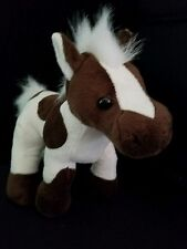 Webkinz PLUSH ONLY - CHOCO  VANILLA PONY - JUST the PLUSH !!!