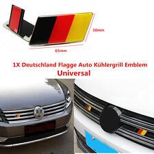 1X Auto Deutschland Flagge Emblem Aufkleber KFZ Frontgrill Abzeichen Vorne Haube
