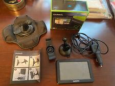"Garmin Nuvi 50LM Portable GPS Navigator 5"" Display + Portable Car Mount Bundle"