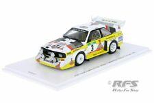 Audi Sport Quattro S1 E2 Walter Röhrl Rallye Portugal 1986 1:43 Spark RFS027 NEU
