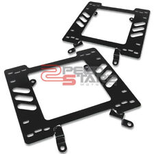 FITS 79-98 FORD MUSTANG DRIVER/PASSENGER RACING SEAT BASE STEEL MOUNT BRACKETS