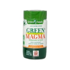 ♡♡GREEN MAGMA♡♡Jus d'herbe d'orge BIO-SUPER ALIMENT NEUF Poudre 80g♡♡MONDIAL REL