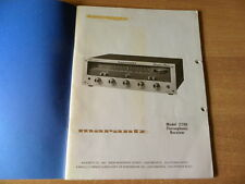 Marantz model 2200  Owner's  manual English French Deutsch
