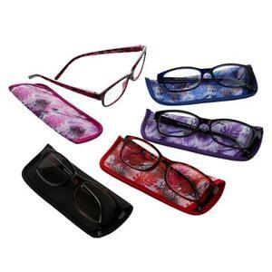 10-piece E-Reader Set Reading Glasses Color Jewel Strength +1.50 #675366 HSN