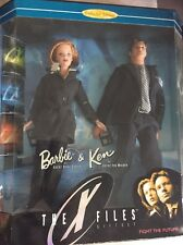 1998 BARBIE E KEN THE X FILES GIFSET NRFB