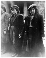 WWII Silver Halide Photo Polish Resistance Women Warsaw Ghetto Occupied Poland