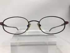 Perry Ellis Eyeglasses PE-176 48-19-135 Oval Metallic Pink #85