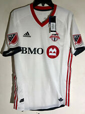 ADIDAS AUTHENTIC MLS JERSEY TORONTO FC TEAM RED SZ L