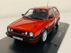 Norev Volkswagen Golf GTI 1990 Rouge Metallique 1/18 188555 0721 8