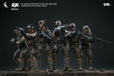 JOYTOY 1/18 US Navy Seal Commando Action Soldier Toys 6 Figures Set Gift JTDS008