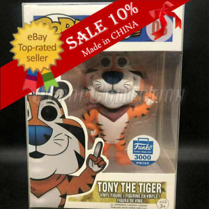Funko Pop! Frosted Flakes Tony The Tiger #08 Funko Shop 3000 Pcs MINT。+Protector