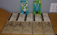 (Lot of 50) Vintage Night Nursery Lights-Includes Bulb GE Pet Parade Kitty Bunny