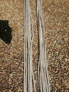 3 Strand Nylon Rope 8mm, ,18mm White Mooring/Anchoring 78 MT in total