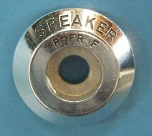 1954-1955 Buick Special and Century rear speaker radio knob excellent chrome